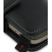T-Mobile HTC Touch Pro2 Leather Flip Cover (Black) handmade leather case by PDair