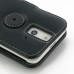 HTC One E8 Leather Flip Cover protective carrying case by PDair