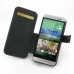HTC One E8 Leather Flip Cover top quality leather case by PDair