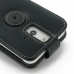 HTC One E8 Leather Flip Top Case handmade leather case by PDair