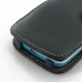 HTC Desire 500 Leather Flip Cover handmade leather case by PDair