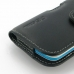 HTC Desire 500 Leather Holster Case protective carrying case by PDair