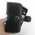 HTC Desire 500 Leather Holster Case custom degsined carrying case by PDair
