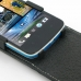 HTC Desire 500 Leather Flip Top Case genuine leather case by PDair