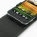 Sprint HTC EVO 4G LTE Leather Flip Top Case genuine leather case by PDair