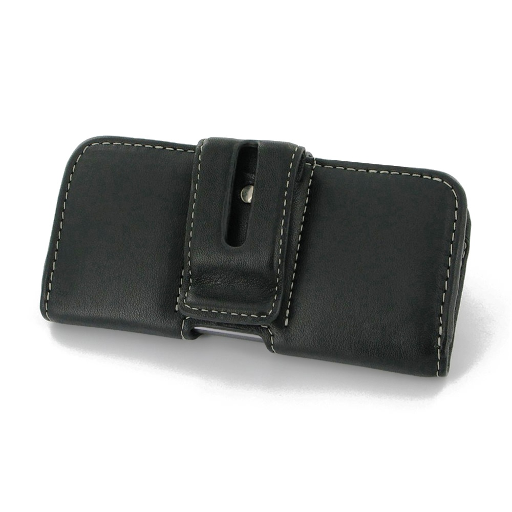 iphone 5 5s leather holster with belt clip pdair