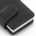 iPod nano 8th / nano 7th Leather Flip Cover (Purple Stitch) handmade leather case by PDair