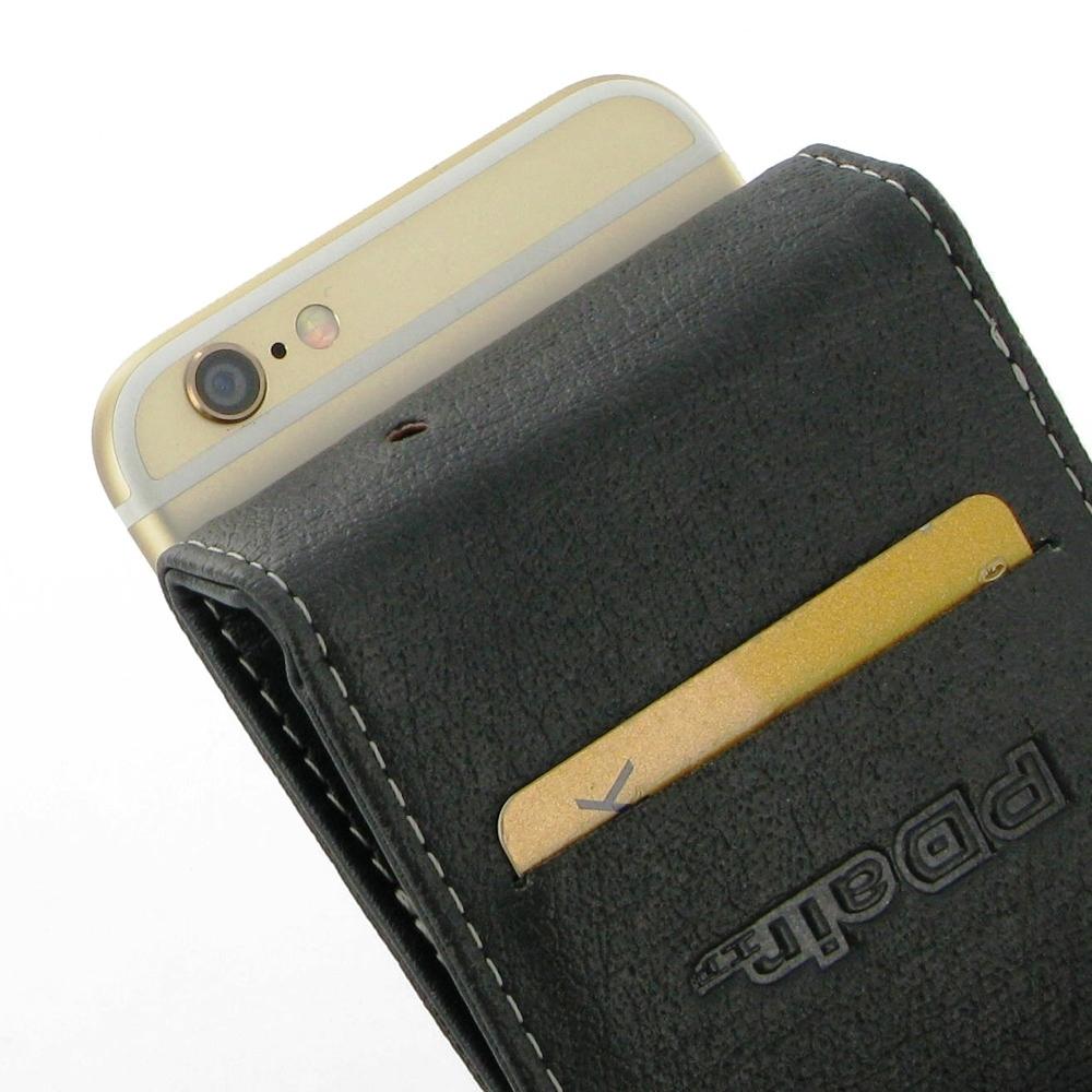 iphone 6 6s leather flip case cover pdair flip wallet. Black Bedroom Furniture Sets. Home Design Ideas