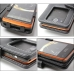 Kyocera Urbano Progresso Leather Flip Cover (Black) protective carrying case by PDair
