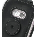 LG KS360 Leather Flip Case (Black) protective carrying case by PDair
