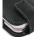LG KS360 Leather Flip Case (Black) handmade leather case by PDair