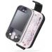 LG KS360 Leather Flip Case (Black) custom degsined carrying case by PDair