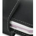 LG KS360 Leather Holster Case (Black) handmade leather case by PDair