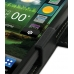 LG Optimus 3D Leather Flip Cover (Black) top quality leather case by PDair