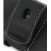LG KT520 Leather Holster Case (Black) protective carrying case by PDair