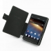 LG Optimus Vu Leather Flip Cover (Black) top quality leather case by PDair