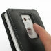 LG Optimus G2 D800 Leather Flip Case handmade leather case by PDair