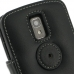 LG Optimus LTE Leather Flip Cover (Black) protective carrying case by PDair