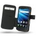 LG Optimus LTE Leather Flip Cover (Black) custom degsined carrying case by PDair