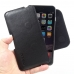 iPhone 6 6s Plus Leather Holster Pouch Case (Black Stitch) genuine leather case by PDair