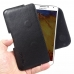 Samsung Galaxy Note 3 Leather Holster Pouch Case (Black Stitch) genuine leather case by PDair
