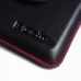 Samsung Galaxy Note 2 Leather Holster Pouch Case (Red Stitch) genuine leather case by PDair