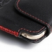 iPhone 6 6s Leather Holster Pouch Case (Red Stitch) protective carrying case by PDair
