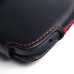 YOTAPHONE 2 Leather Holster Pouch Case (Red Stitch) protective carrying case by PDair