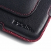 YOTAPHONE 2 Leather Holster Pouch Case (Red Stitch) handmade leather case by PDair