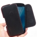 YOTAPHONE 2 Leather Holster Pouch Case (Red Stitch) genuine leather case by PDair