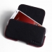 ZTE Blade S6 Leather Holster Pouch Case (Red Stitch) custom degsined carrying case by PDair