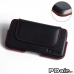 ZTE Blade S6 Leather Holster Pouch Case (Red Stitch) offers worldwide free shipping by PDair