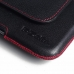 LG G3 Leather Holster Pouch Case (Red Stitch) handmade leather case by PDair