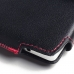 Lenovo Vibe Shot Z90 Leather Holster Pouch Case (Red Stitch) protective carrying case by PDair