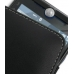 Motorola Q11 Pouch Case with Belt Clip (Black) handmade leather case by PDair