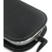 Motorola MOTOSURF A3100 Leather Sleeve Pouch Case (Black) protective carrying case by PDair