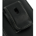 Motorola Droid 3 Pouch Case with Belt Clip (Black) protective carrying case by PDair
