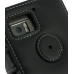 Motorola Droid Bionic Leather Flip Cover (Black) protective carrying case by PDair