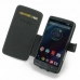 Motorola DROID Turbo Leather Flip Cover top quality leather case by PDair