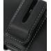 Motorola DROID X / Milestone X Leather Holster Case (Black) protective carrying case by PDair