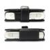 Motorola E680 E680i Leather Flip Cover (Black) handmade leather case by PDair