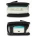 Motorola E680 E680i Leather Flip Cover (Black) genuine leather case by PDair