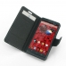 Motorola Droid Maxx Leather Flip Carry Cover top quality leather case by PDair