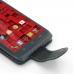 Motorola Droid Maxx Leather Flip Carry Case handmade leather case by PDair