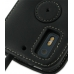 Motorola Photon 4G Leather Flip Cover (Black) protective carrying case by PDair