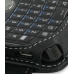 Motorola Q9h Leather Flip Cover (Black) top quality leather case by PDair