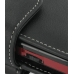 Motorola Q9m Q9c with Extended Battery Leather Holster Case (Black) top quality leather case by PDair