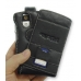 Motorola Q / Q Pro with Ext Bat Luxury Leather Flip Case (Black) top quality leather case by PDair
