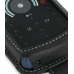Motorola ROKR E8 Leather Flip Case (Black) handmade leather case by PDair