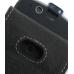 Motorola ROKR E8 Leather Flip Case (Black) genuine leather case by PDair